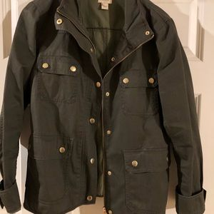"""JCrew """"downtown field jacket"""""""